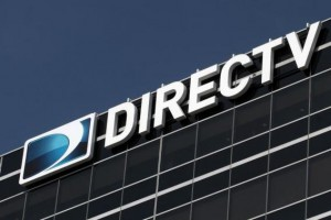 The headquarters building of U.S. satellite TV operator DirecTV is seen in Los Angeles